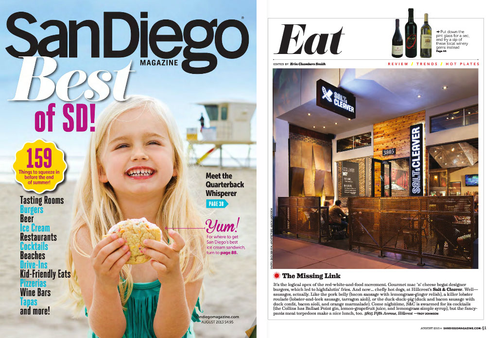 Press publications studioanderson for The home mag san diego